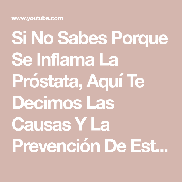 problemas de próstata x mujeres du