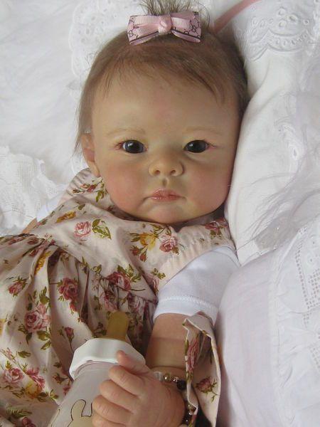 Cute Blue Eyes Reborn Baby Dolls For Newborn Baby Boy 55 ... |Real Babies For Adoption