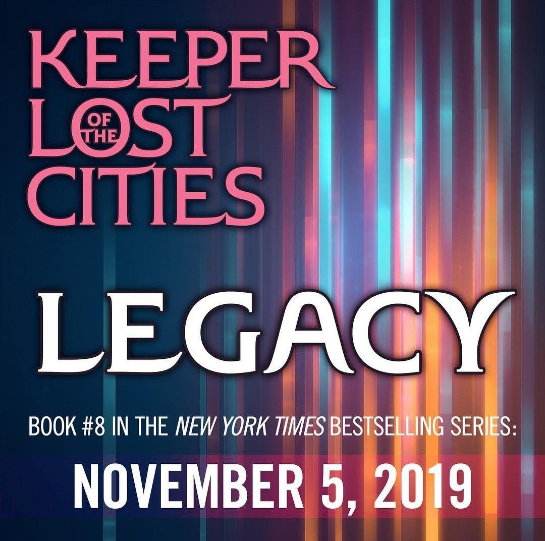 Keeper Of the Lost Cities Book 8! Sokeefe for life! kotlc