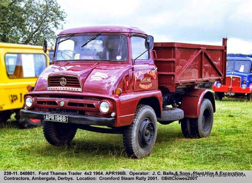 1964 Ford Thames Trader | Legendary & Oldtime FORD Trucks-THAMES ...