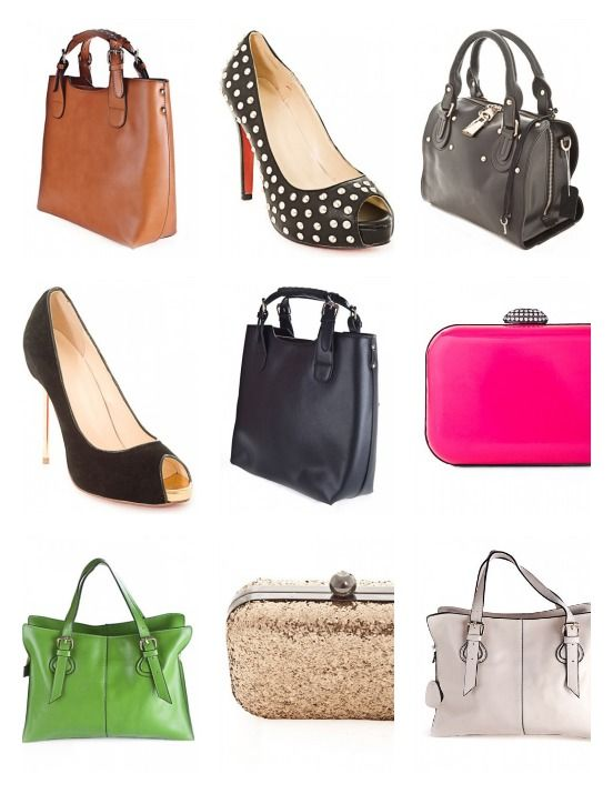 Fabulous Handbags And Heels From Erato