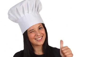 Come fare un cappello da chef di carta - Fai da Te Mania  1692e0343db8