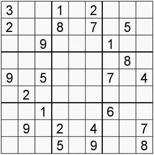 Pasatiempos para Imprimir: Sudoku nº 143 | Sudokus, Juegos mentales,  Materiales didacticos