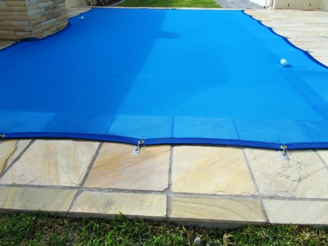 Home pool covers and nets aqua net the pool safety - Commercial swimming pool safety equipment ...