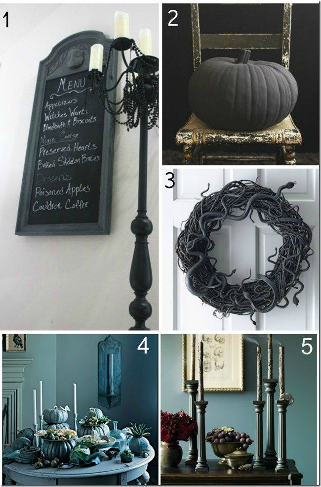 On trend Halloween Decor Hallows\u0027 Eve Pinterest - halloween decorations at home