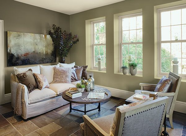 Benjamin Moore Nantucket Gray Window Wall I Have This And Its Beautiful Especially When The Light Shines Through Windows