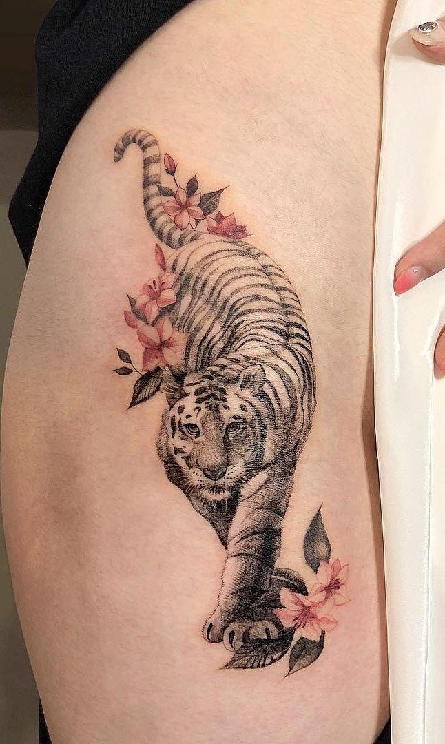 120 Tatuagens De Tigre Incriveis Masculinas E Femininas
