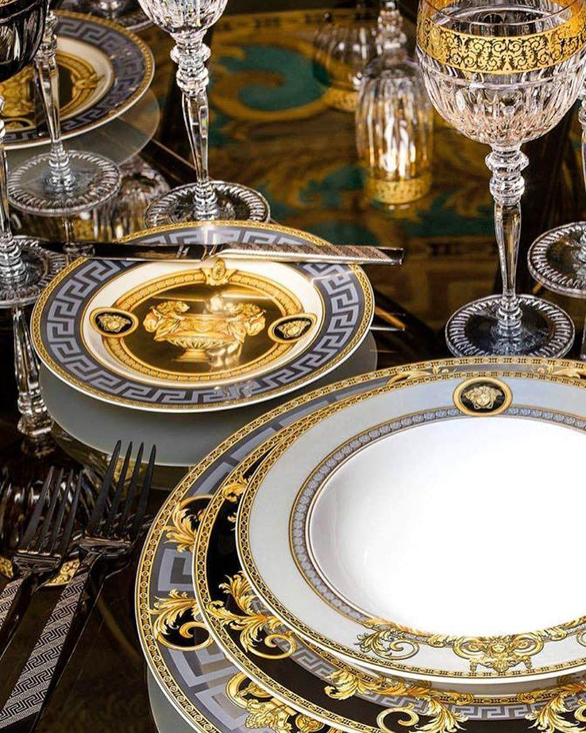 Versace holds grand surprises for your dining table available at
