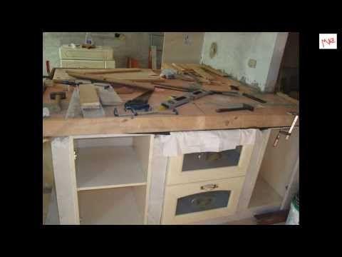 Favorito Cucina in muratura fai da te - 1°parte - YouTube ...