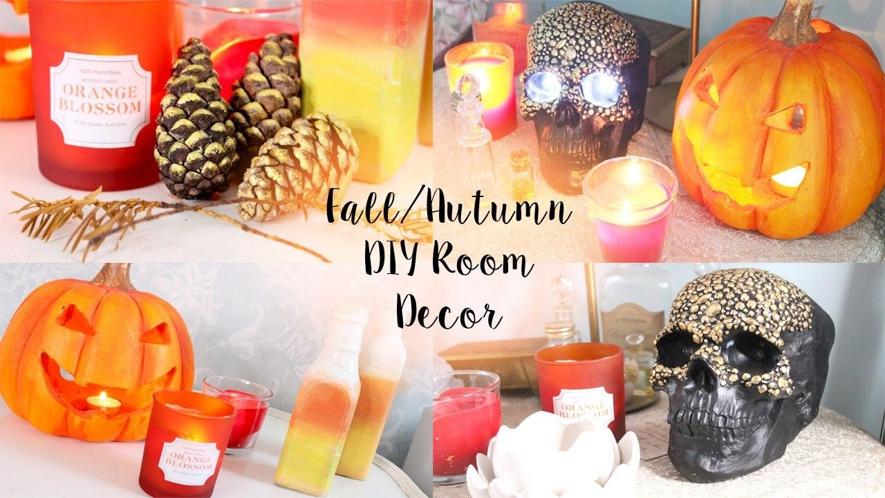 Diy Tumblr Pinterest Room Decor For Autumn Fall Fall Room