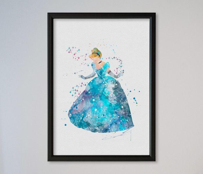 Cinderella A4 Kunstdruck von Traumweber auf DaWanda.com