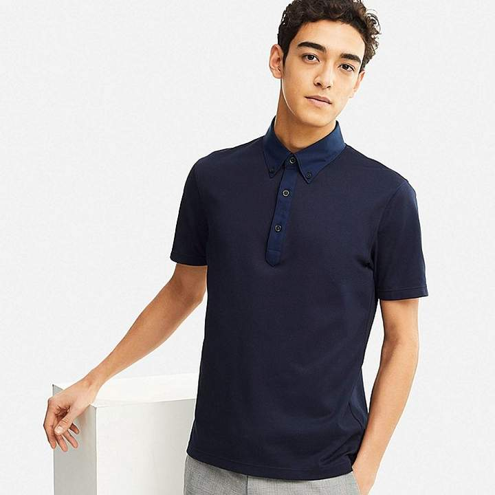 019e30823c9 MEN AIRism POLO SHIRT | MD | Polo, Polo Shirt, Shirts