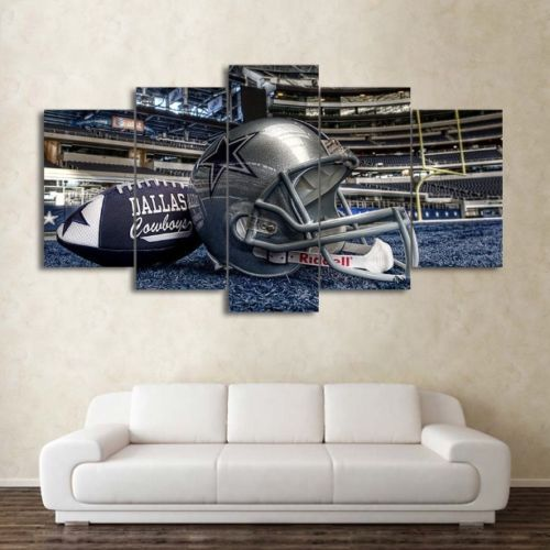 Canvas print painting pictures wall art home decor dallas cowboys stadium framed love painting pinterest cowboys stadium picture walls and vivid