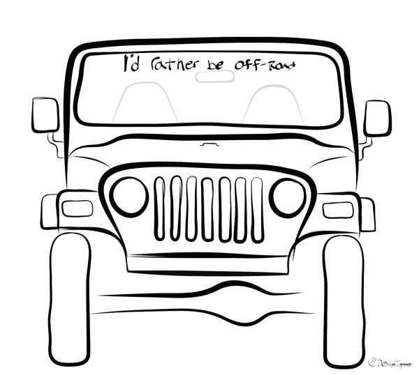 jeep drawings - Google Search | Jeeps | Pinterest