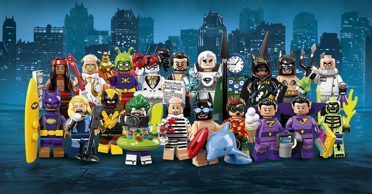 The LEGO Batman Movie CMF series 2 revealed! | Lego batman movie ...