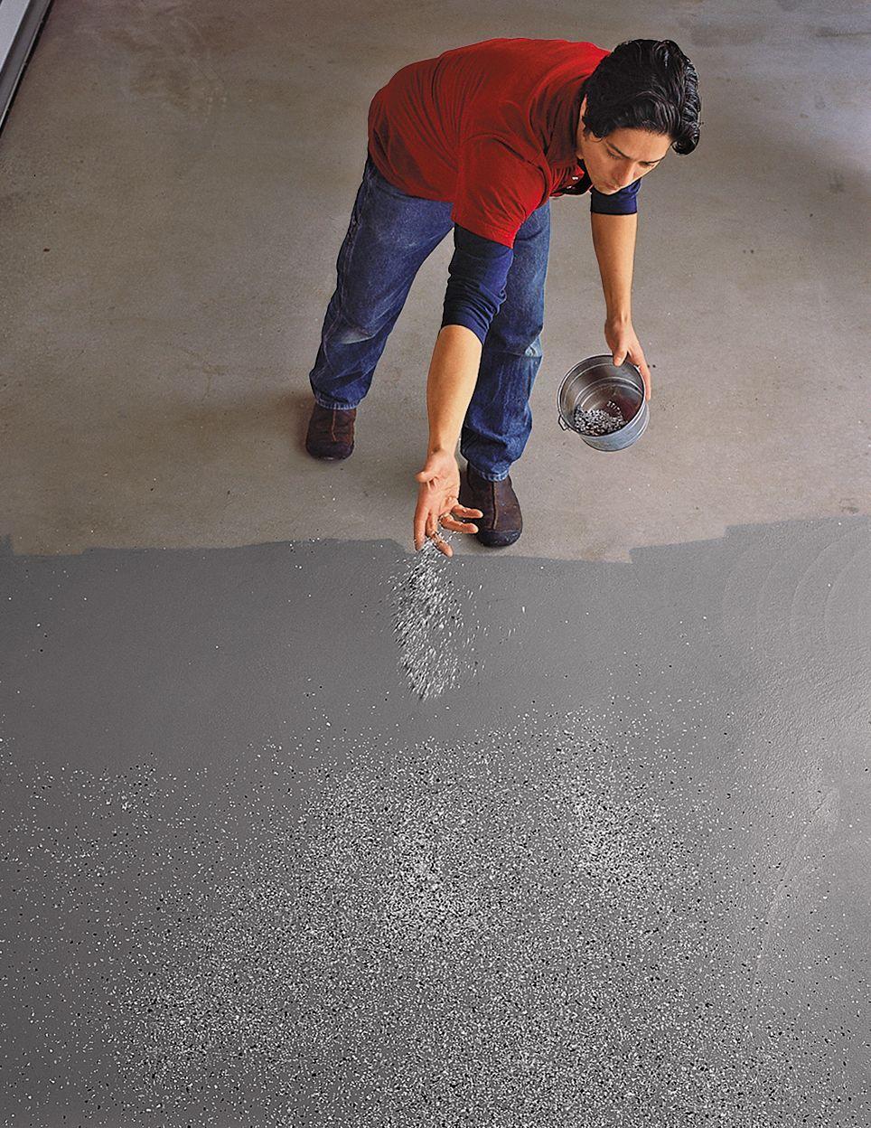 How To Epoxy Coat A Garage Floor Garage Epoxy Garage Floor Garage Floor Epoxy