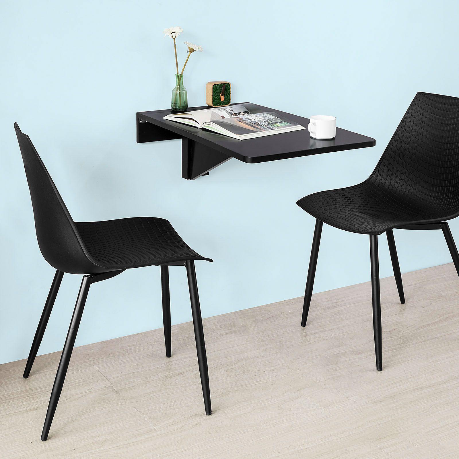 Tavolo Ribaltabile A Parete tavolo a muro tavolo pieghevole tavolo cucina nero fwt04-sch