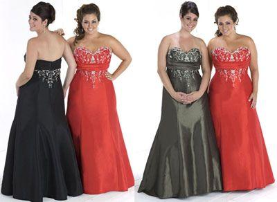 Fotos e vídeos de vestidos de festa para gordinhas