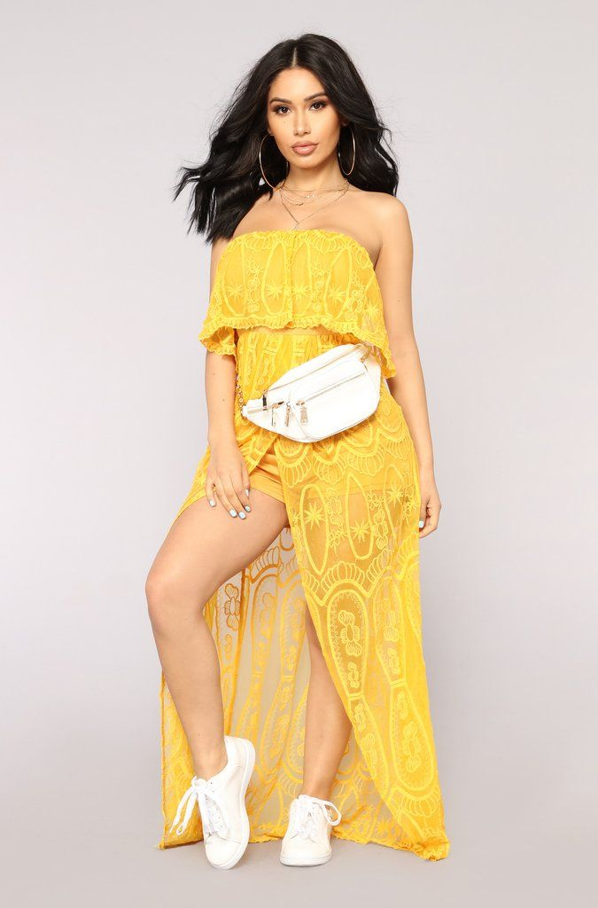 09ae4865d860 Dolores Maxi Dress - Mustard