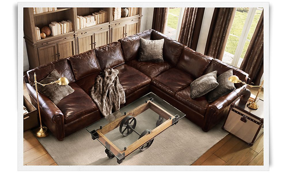 The Sectional Version Of Comfiest Sofa Rh Lancaster Thinking Ing Our 3 Cushion And Getting This I D Have One Hy Husband
