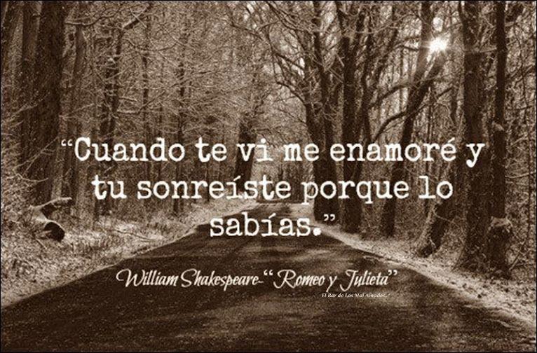 William Shakespeare Only Love Pinterest Amor Frases De Amor Y