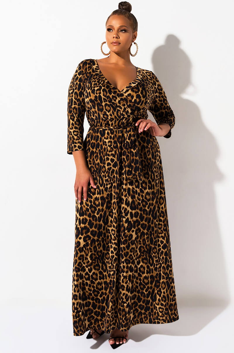 Plus Its The One Every Occasion Leopard Maxi Dress Leopard Maxi Dress Maxi Dress Cheetah Print Dress [ 1209 x 800 Pixel ]