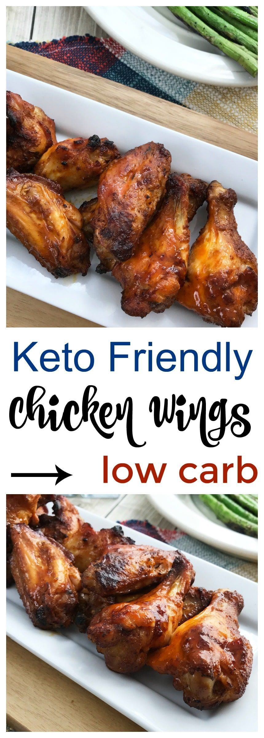 Chicken Wings Keto Chicken Wings are delicious and the perfect addition to football season, holiday parties, and get togethers. / Low Carb Chicken Wings / Keto Appetizers / Low Carb AppetizersKeto Chicken Wings are delicious and the perfect addition to football season, holiday parties, and get togethers. / Low Carb Chicken Wings / Keto Appetizers...