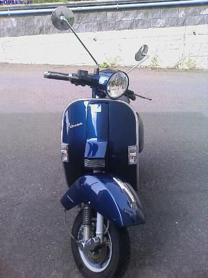 vespa px blu