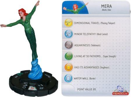 Mera #028 DC 75th Anniversary Heroclix I want this so bad.