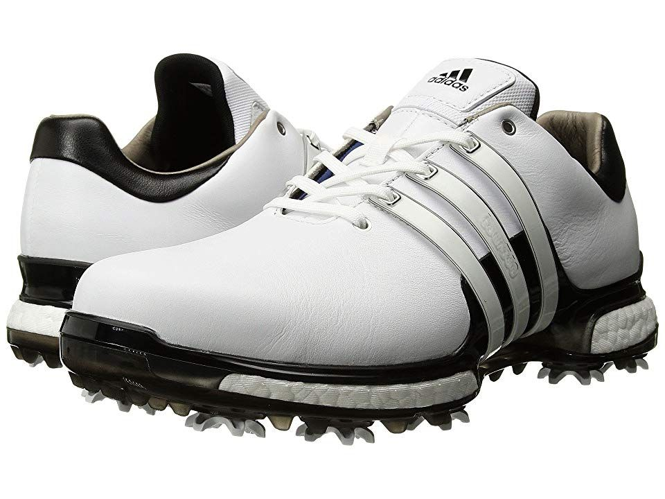adidas Golf Tour360 2.0 (Footwear White Core Black Core Black) Men s Golf 67d2be652