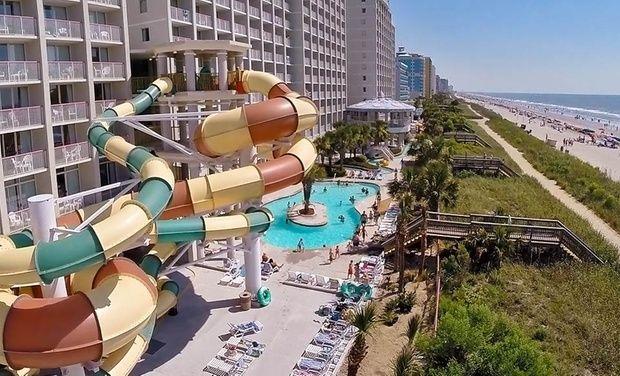Stay At Crown Reef Resort In Myrtle Beach Sc Dates Into October Myrtle Beach Hotels Myrtle Beach Resorts Myrtle Beach