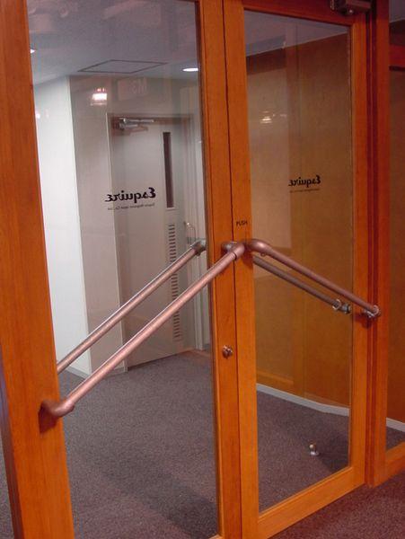 3. Door Handles - Made with Kee Klamp