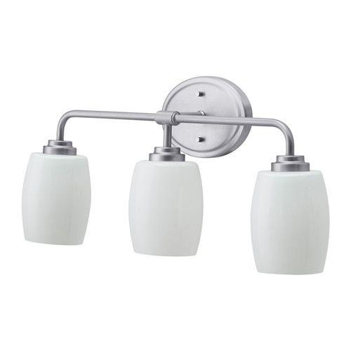 VALLMORA Wall lamp, 3-spots, nickel plated Walls, Lights and Bath