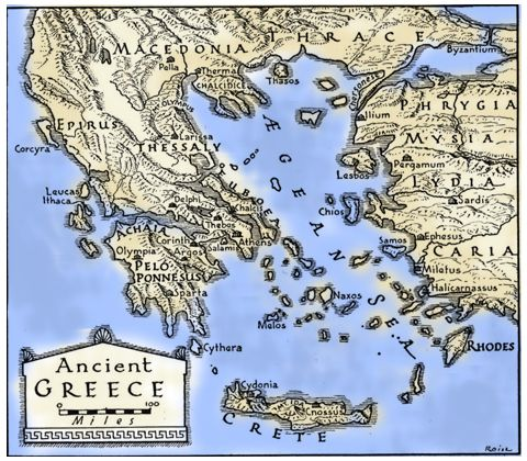 Ancient greece the ancient aegean world oedipus the king ancient greece the ancient aegean world gumiabroncs Images