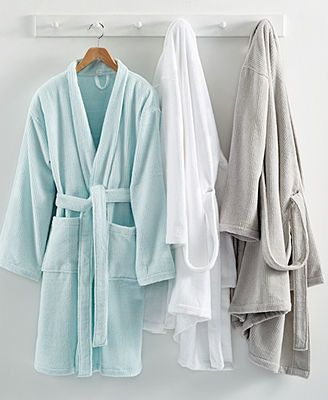 Martha Stewart Collection Quick Dry Robe In 2020 Bath Robes For