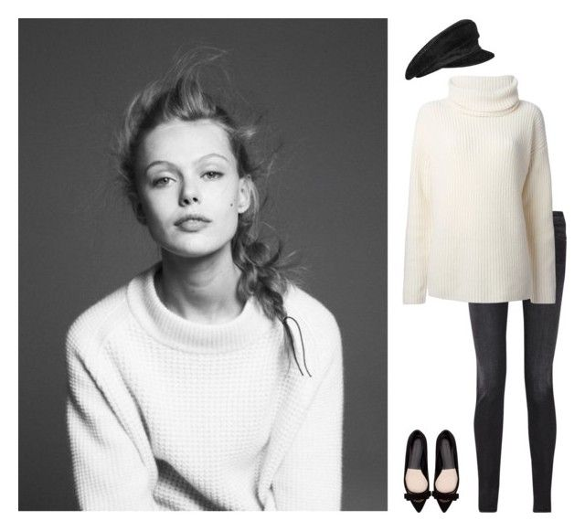 """""""White Winter"""" by laurenmarron ❤ liked on Polyvore featuring Hermès, Acne Studios, Theory, Zara and laurenthelabel"""