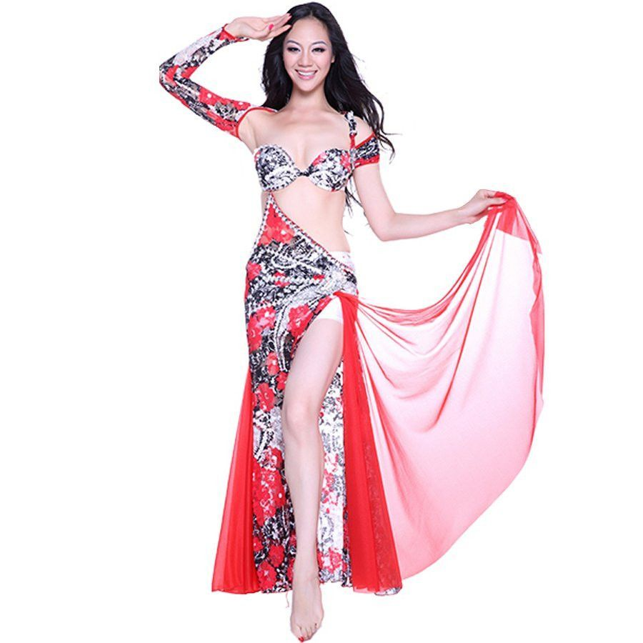 2015 indian dress belly dance skirt bollywood dance costumes vestido ...