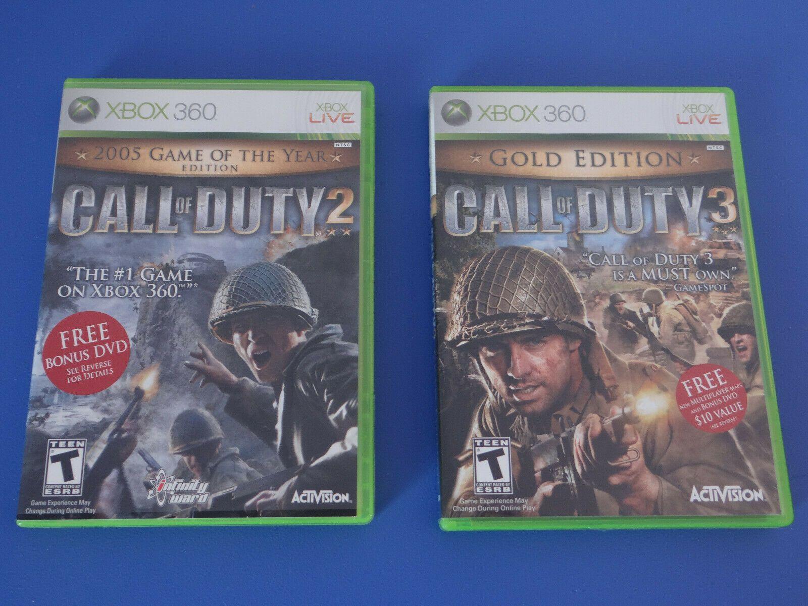 Call Of Duty 2 Goty Call Of Duty 3 Gold Edition Xbox 360 Ideas Of Call Of Duty Callofduty In 2020 Call Of Duty Xbox 360 Xbox