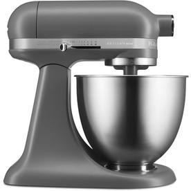 Kitchenaid Artisan Mini 3 Quart 10 Speed Matte Gray Countertop