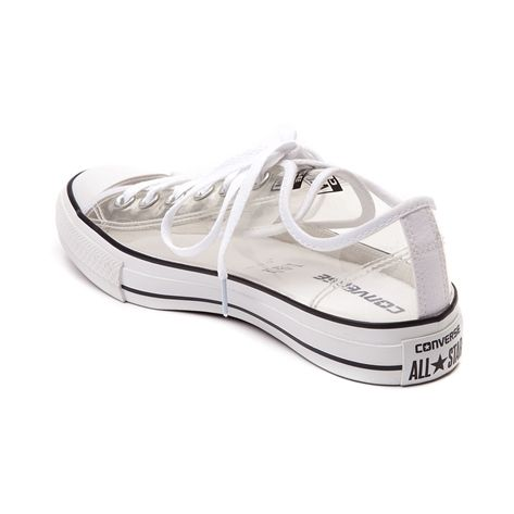 0f8ce8e2e61288 Yes these are CLEAR! Clear!! Converse Chuck Taylor All Star Lo Clear Sneaker