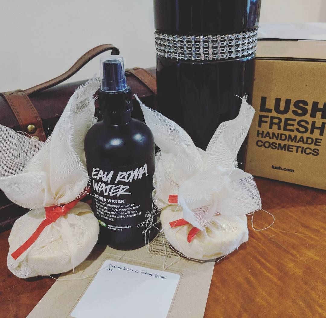 Valentine's Day 2! Thanks @sablednah for this surprise treat in today's post  #Lush #ceridwenscauldron #rosewater