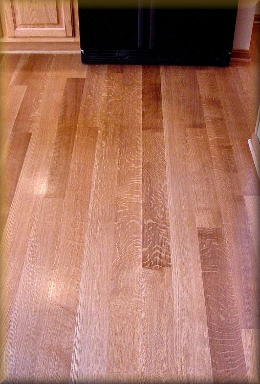 Exposed Medullary Ray Fleck Is The Signature Attribute Of Quartersawn White Oak Which Was Used Al Hardwood Floors Reclaimed Hardwood Flooring Mahogany Flooring