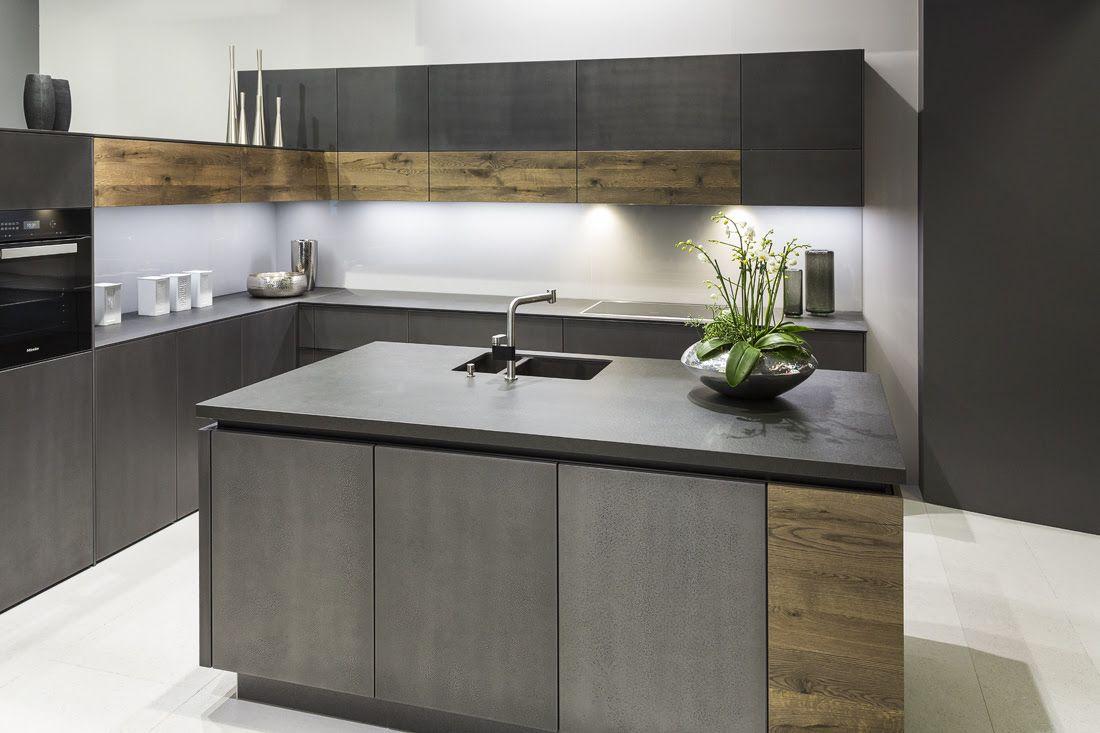 Neolith Nero Zimbabwe Riverwashed   Contemporary kitchen, Rustic ...