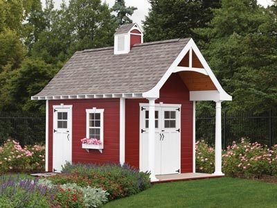 barn style shed (distributed by amish buildings) | Barn ...