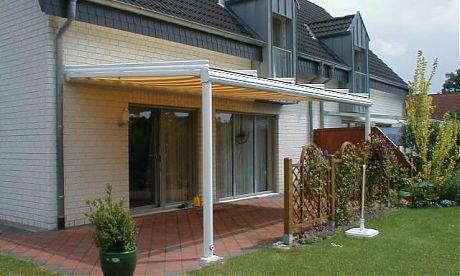 Terrassenüberdachung aus Alu - zum verweilen auf der Terrasse - sonnenschutz markisen terrasse