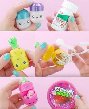 Un adorable moyen de recycler les œufs Kinder en boite pour vos écouteurs #bricolagefacile