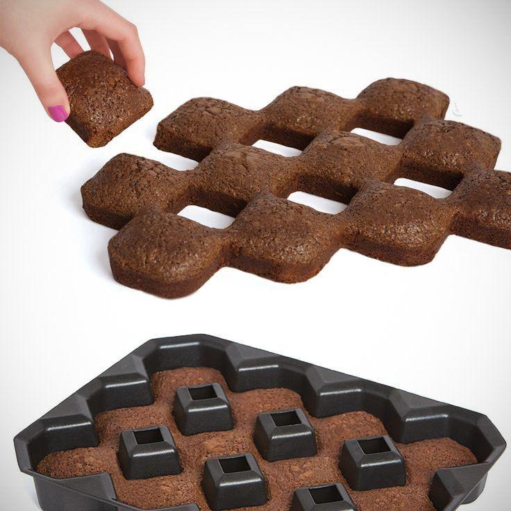 All Crispy Corner Brownie Pan With Images Brownie Pan Food