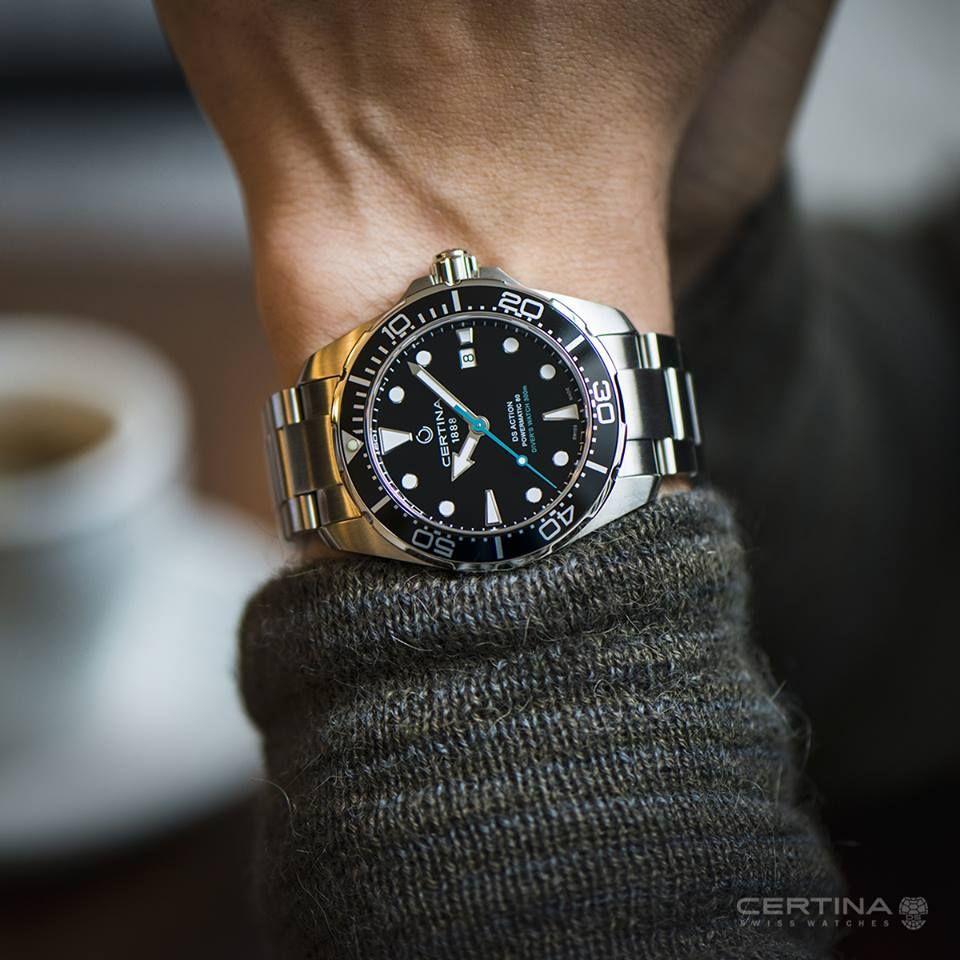 Certina Ds Action Sportliche Herrenuhr Sportliche Herrenuhr Uhren Herren Taucheruhr
