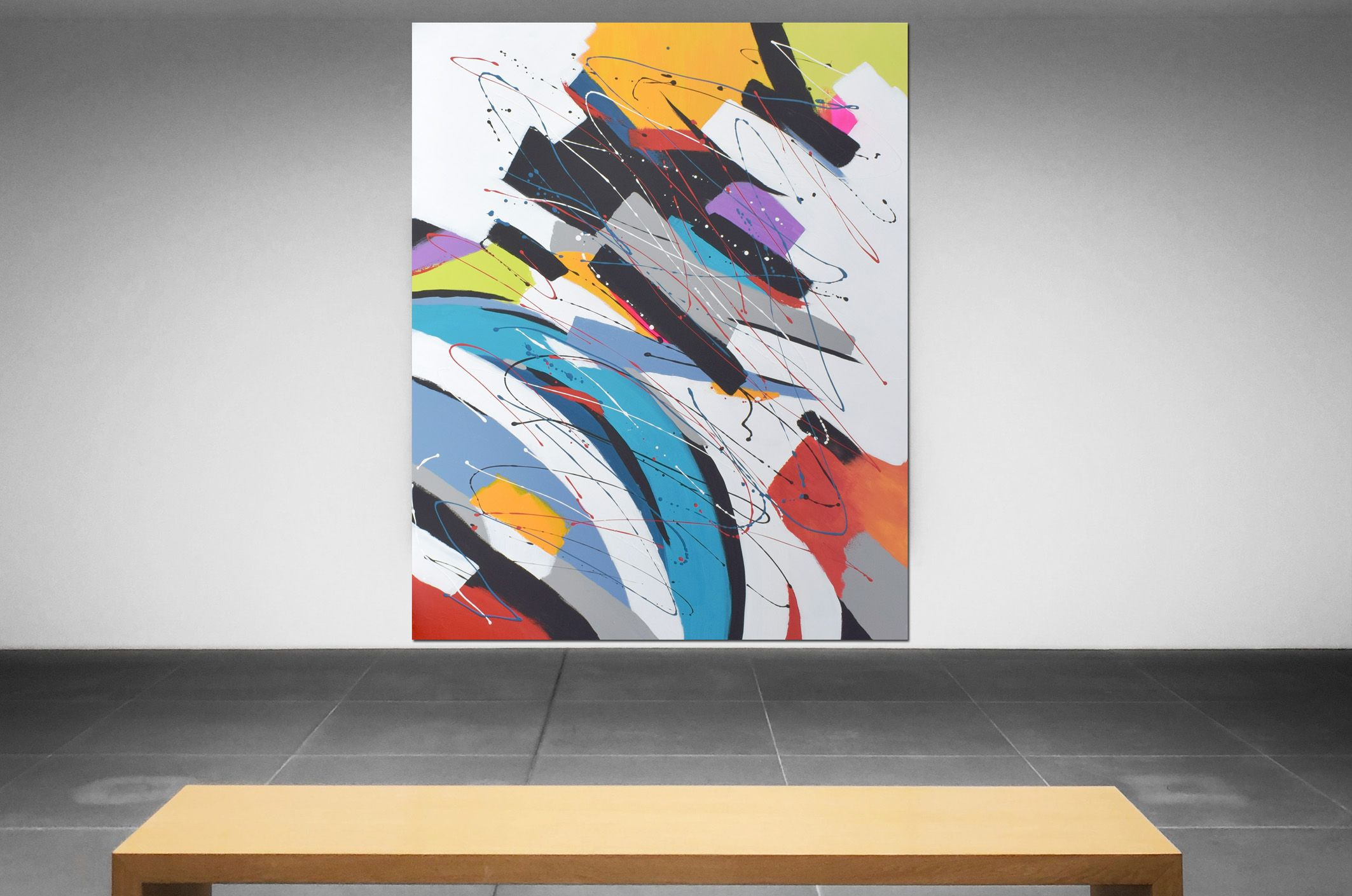 xxl moderne kunst bilder kaufen galerie auf leinwand modern