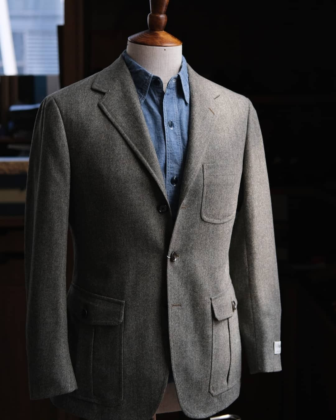 a792ba7b59e5bf Introducing our new Armoury Model 11 Sports coat made for us by  @ring_jacket . New